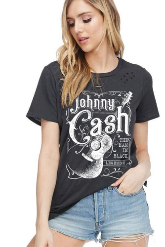 Johnny Distressed Graphic Tee