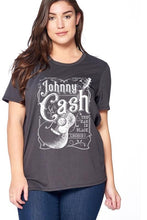 Load image into Gallery viewer, Johnny Cash Graphic Tee // Beauties