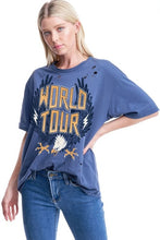 Load image into Gallery viewer, Relaxed World Tour Band Tee