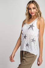 Load image into Gallery viewer, Sheer Knit Star Tank