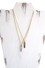 Load image into Gallery viewer, Elle Drop Horn Necklace
