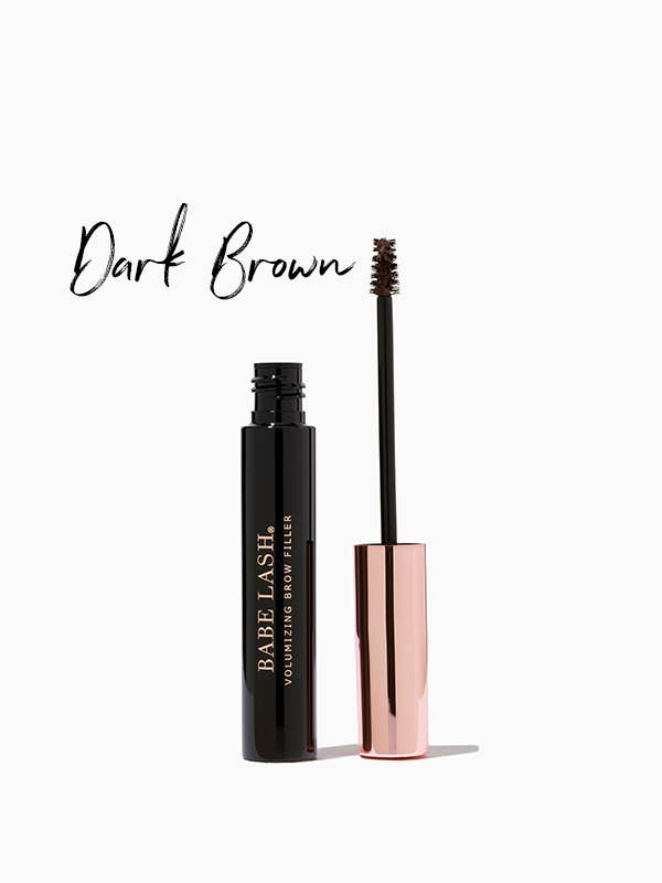 Babe Lash Volumizing Brow Filler Dark Brown