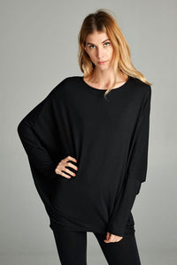 Long Sleeve Dolman Top // Lovelies