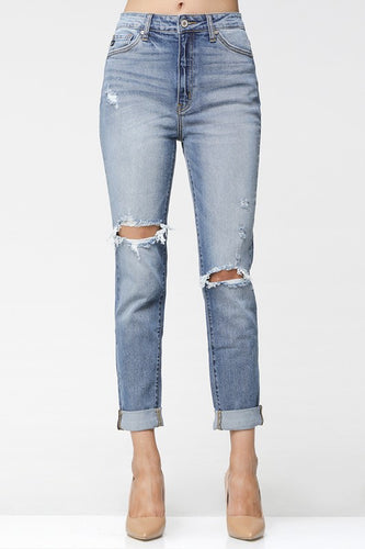 Joy High Rise Mom Jean