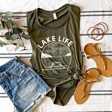 Load image into Gallery viewer, Lake Life Muscle Tank // PRE-ORDER