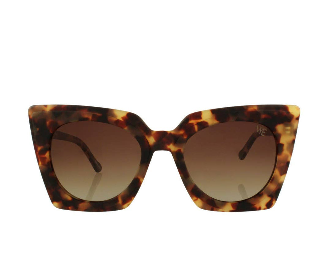 On Point Polarized Sunnies - Brown Tort