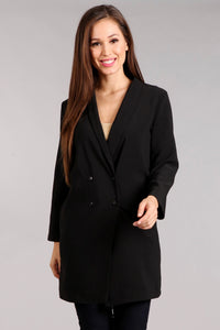 Chic Double Breasted Blazer