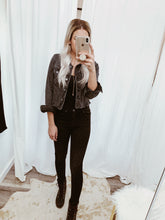 Load image into Gallery viewer, Vintage Raw Hem Jacket