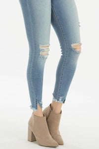 Decker High Rise Cropped Skinny