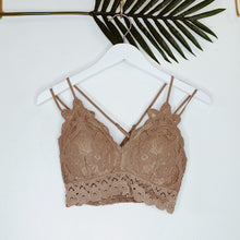 Load image into Gallery viewer, Ami Crochet Lace Bralette