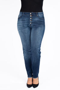 Kylie Button Fly Beauties Denim