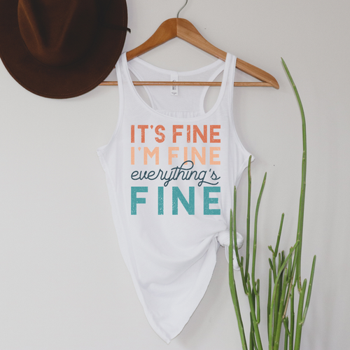 Everything's Fine Tank (preorder)