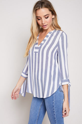 FINAL SALE - V Neck Casual 3/4 Sleeve
