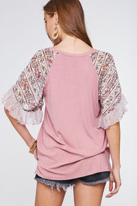 Cecilia Bell Sleeve Top