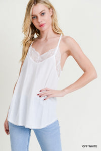 Gracie Lace Luxe Cami