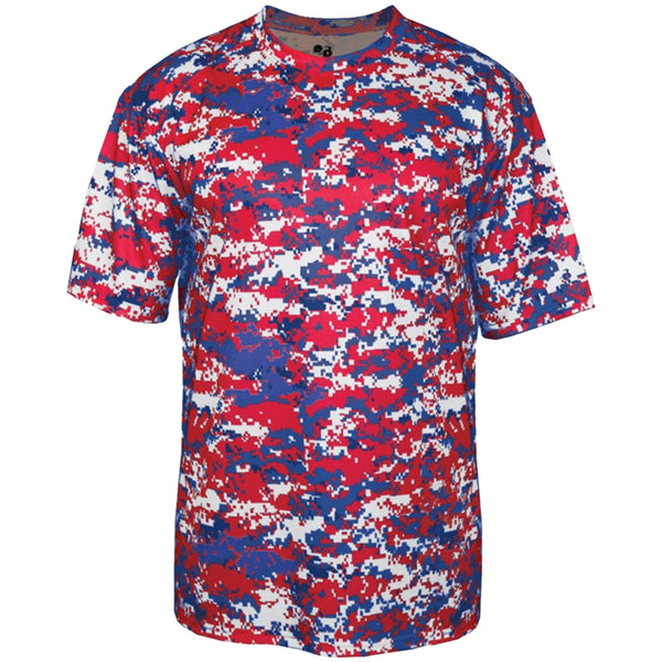 Youth Camo Bommarito 500 Digital Camo Poly Youth T-Shirt