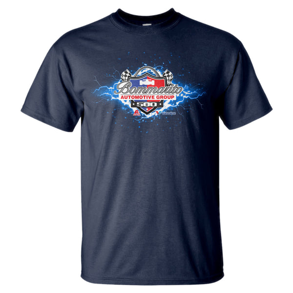2019 Bommarito 500 T-Shirt Lightning Bolt