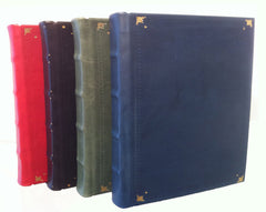 "Calfskin Archival Loose Leaf Albums  -  14"" x 11.5"" sheets"