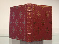 Artist's Binding, Red Goatskin Journal