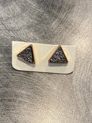 Stud Triangle  Earring