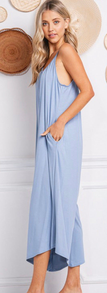 Jumpsuit Palazzo Pant With Pocket