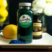 Blue Magic: Meyer Lemon Vanilla Blue Algae  Lemonade Syrup