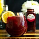 Honey Raspberry Black Currant Lemonade