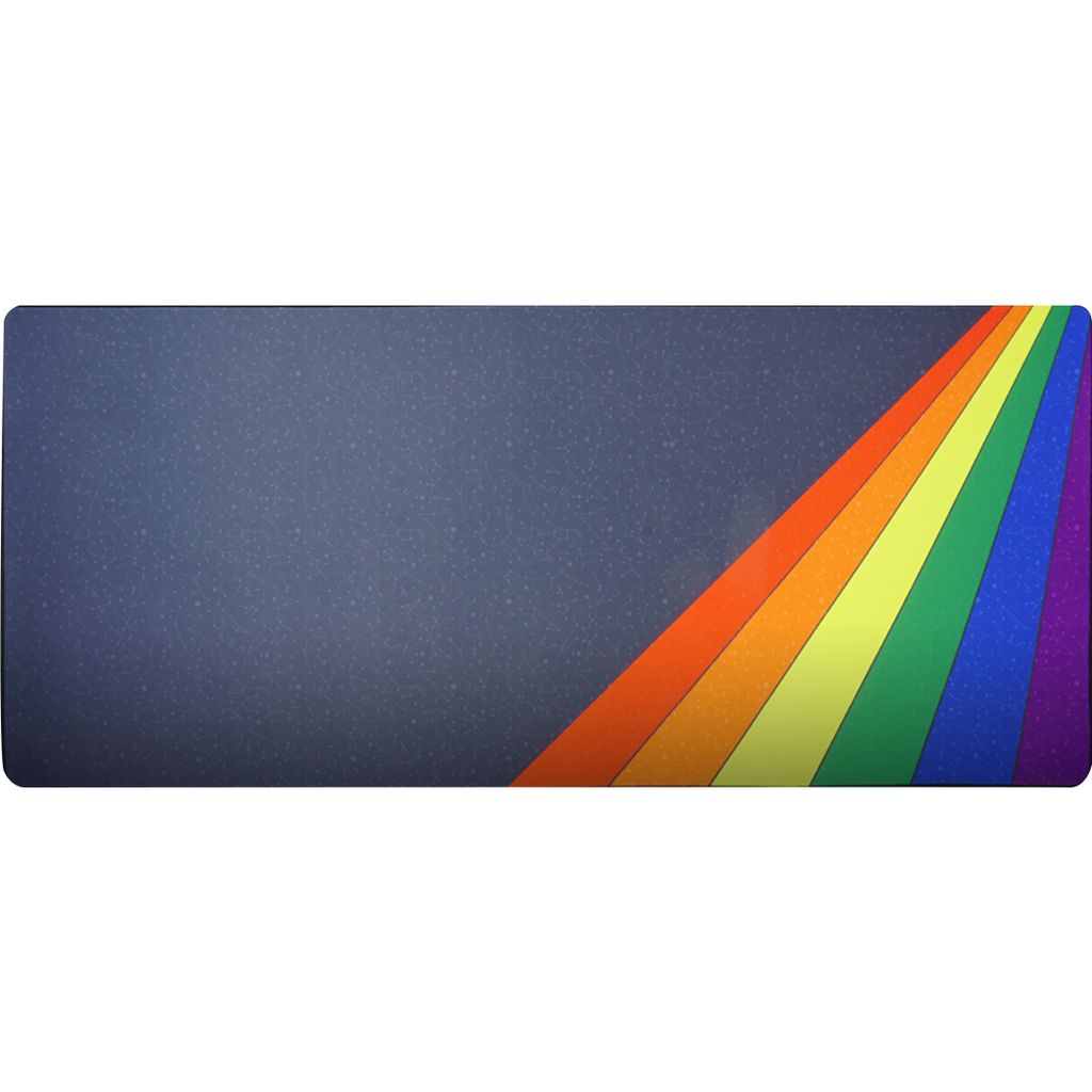 Midnight Rainbow Deskmat
