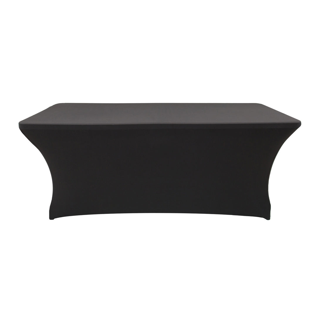 tablecloth 5ft black cocktail tablecloth
