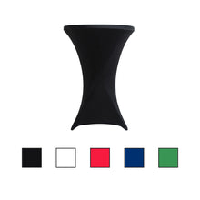 Load image into Gallery viewer, Stretch Spandex Folding Cocktail Table Cover