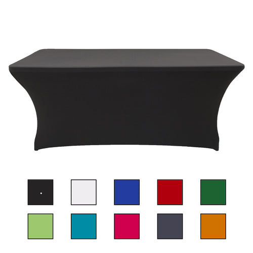 rectangle spandex tablecloth