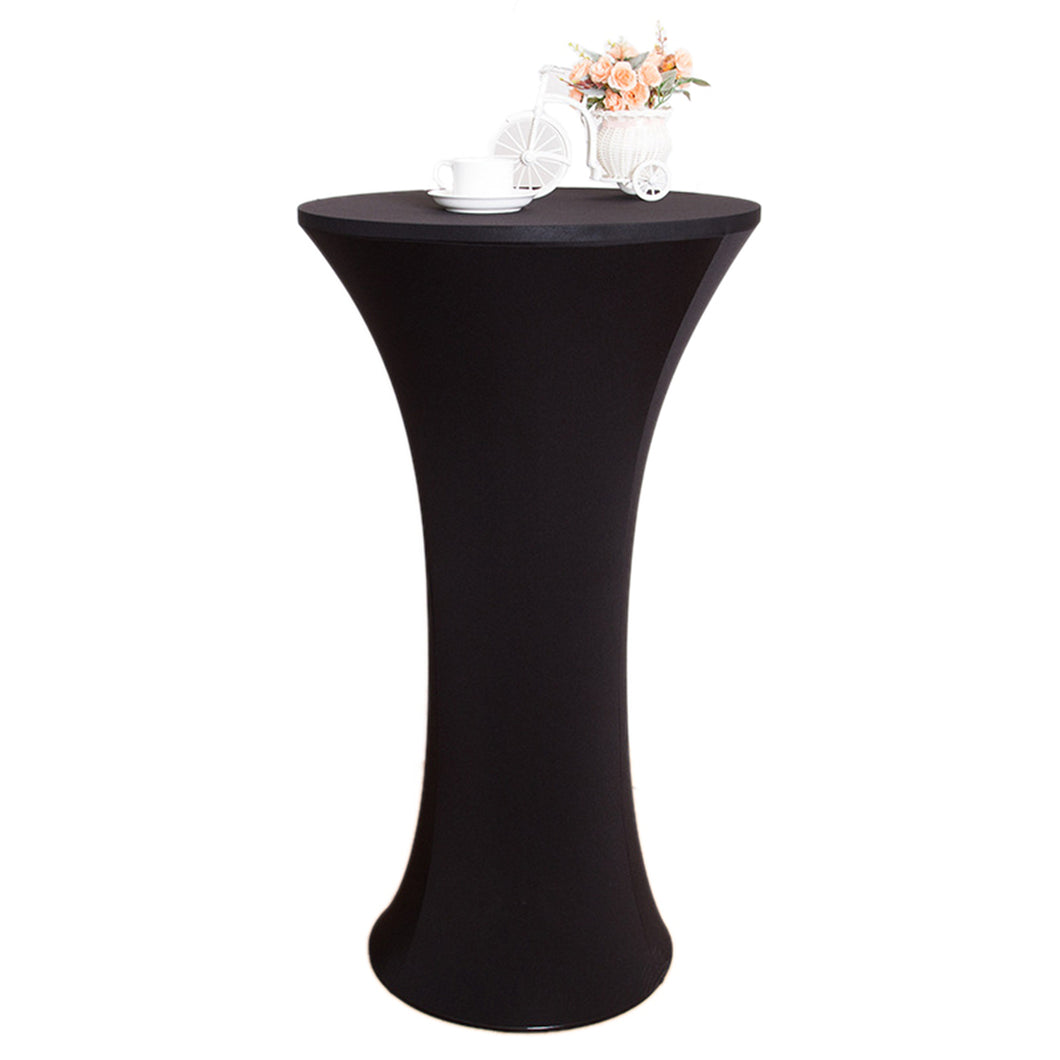black round cocktail tablecloth