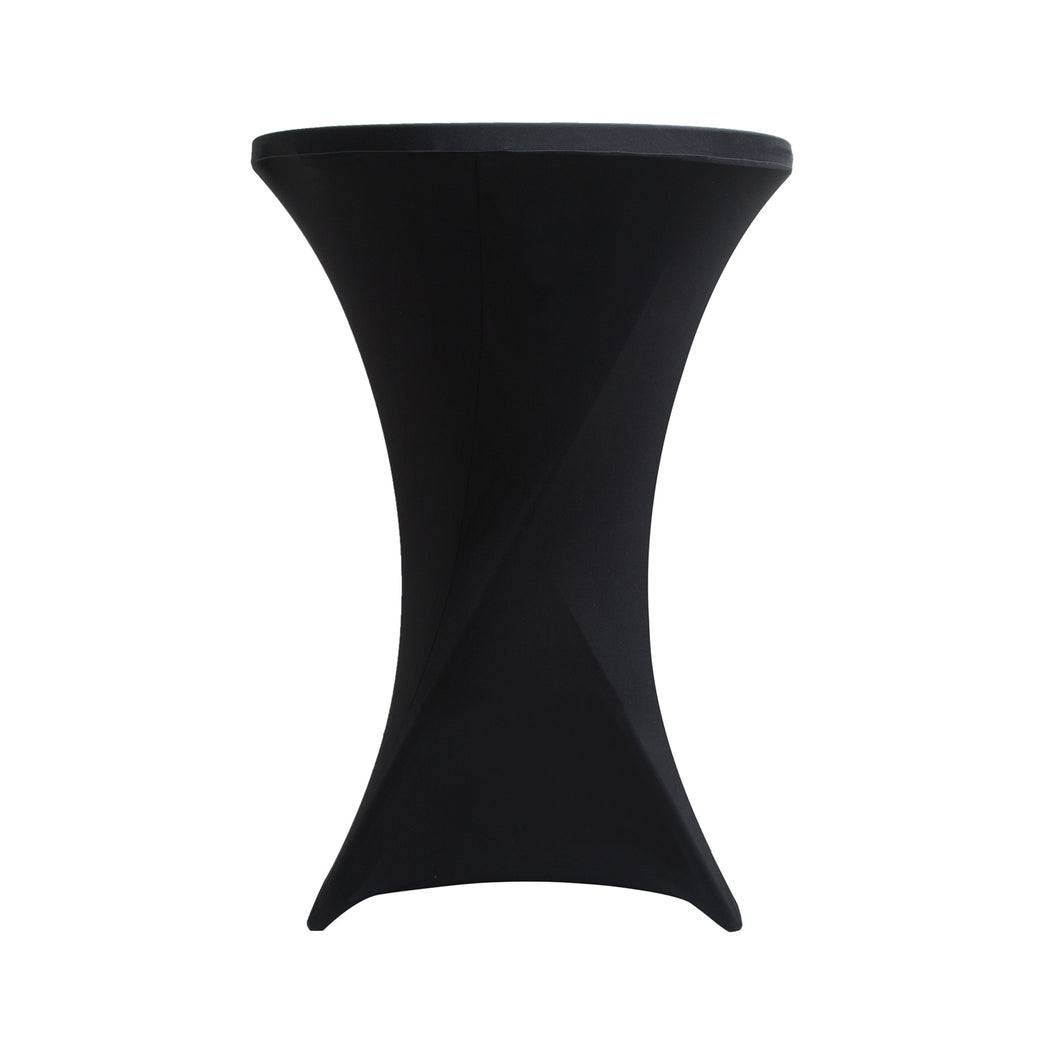 black cocktail tablecloth