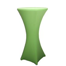 Load image into Gallery viewer, 29x43 inch Cocktail Spandex Stretch Round Tablecloth Table Cover for Weddings Bars Party