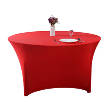 Load image into Gallery viewer, Stretch Spandex Round Tabletop  Cocktail Tablecloth