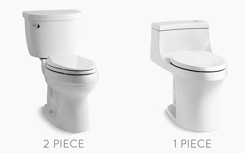 Bidet Works buying fitment guide for one piece or two piece toilets