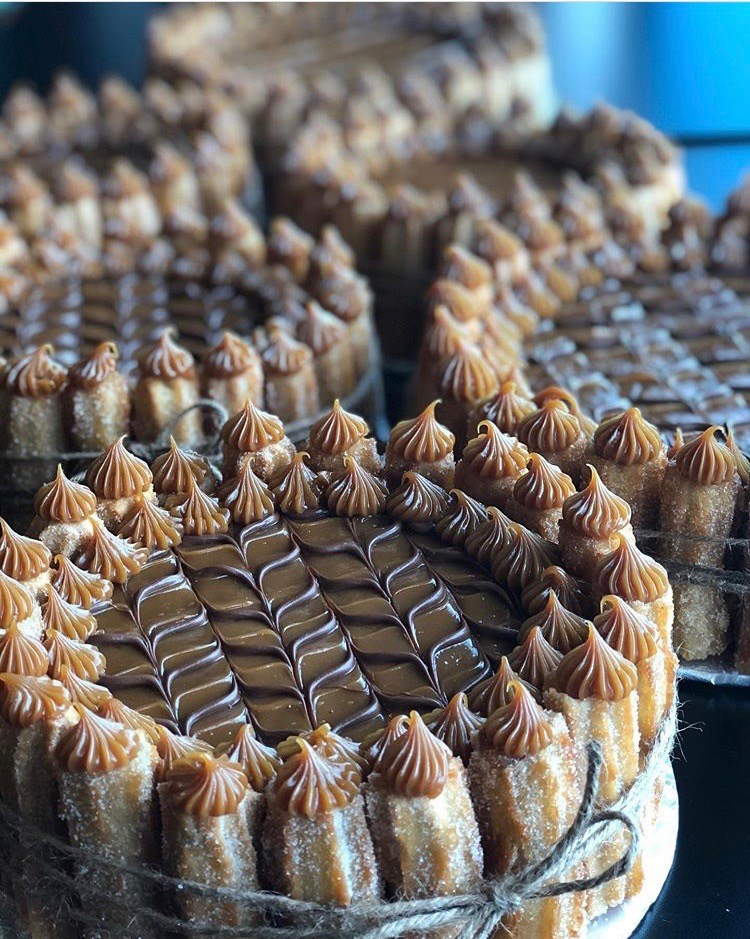MEDIUM Churro Cakes - Pick up only - choose pick up at check out