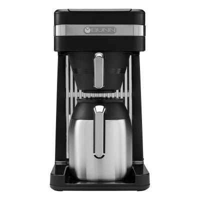 BUNN Speed Brew -10 Cup Platinum Coffee Maker (Black) - CSB3T