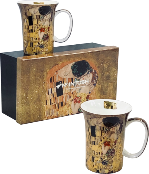 Klimt The Kiss - Set of 2 Mugs