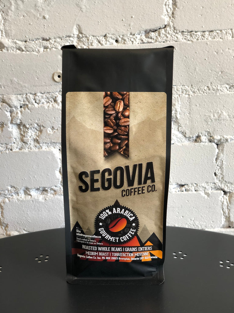 Segovia Coffee - Whole Bean - 12oz Bag