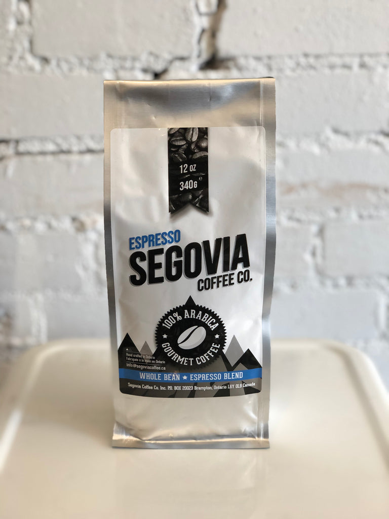 Segovia Espresso - Whole Bean - 12oz Bag