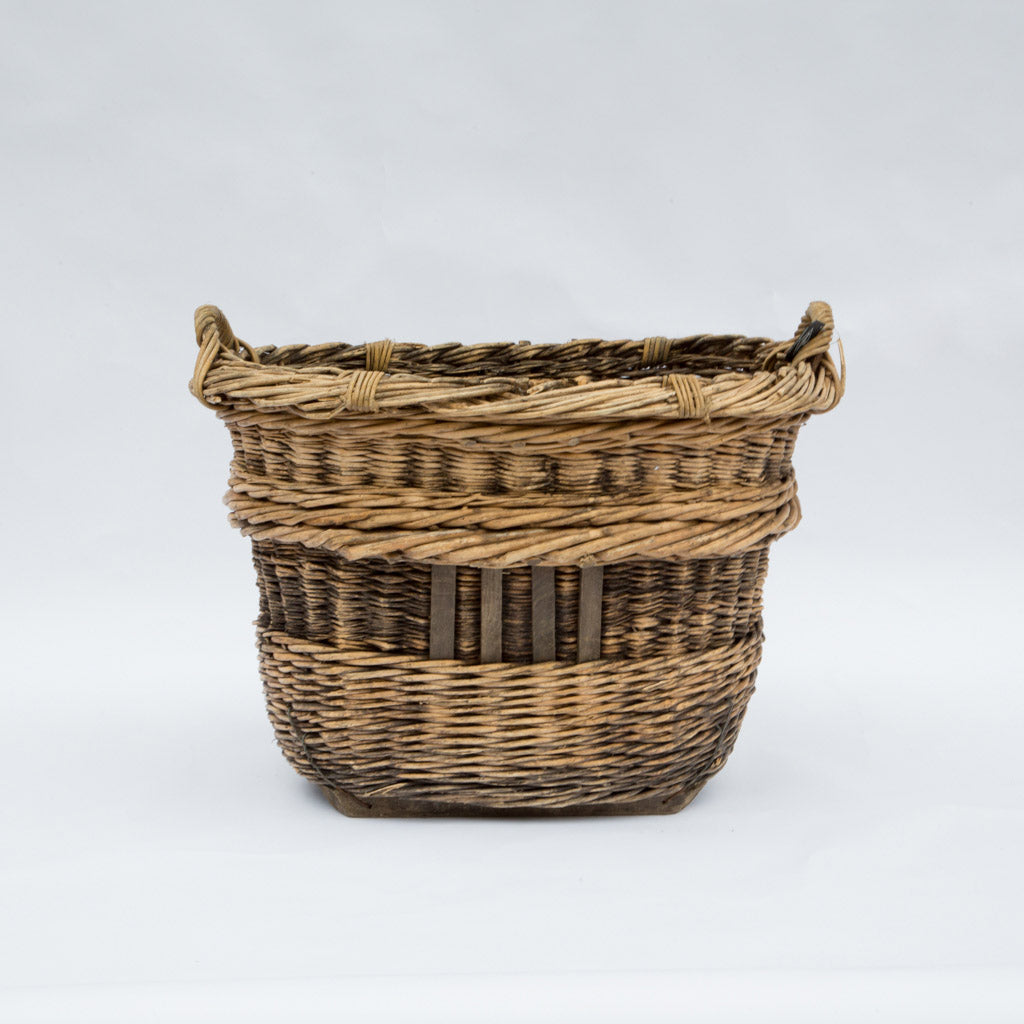 Wicker Basket France c. 1950