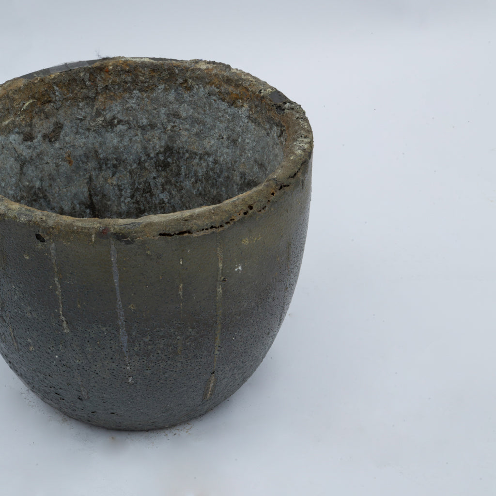 Cast Iron Flower Pot