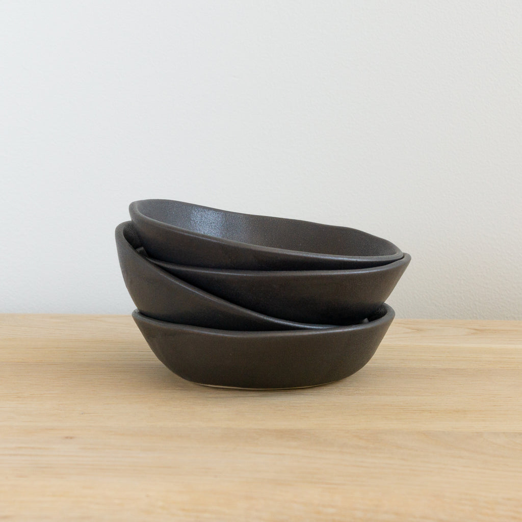 "Alex Marshall 6"" Low Bowl - Charcoal"