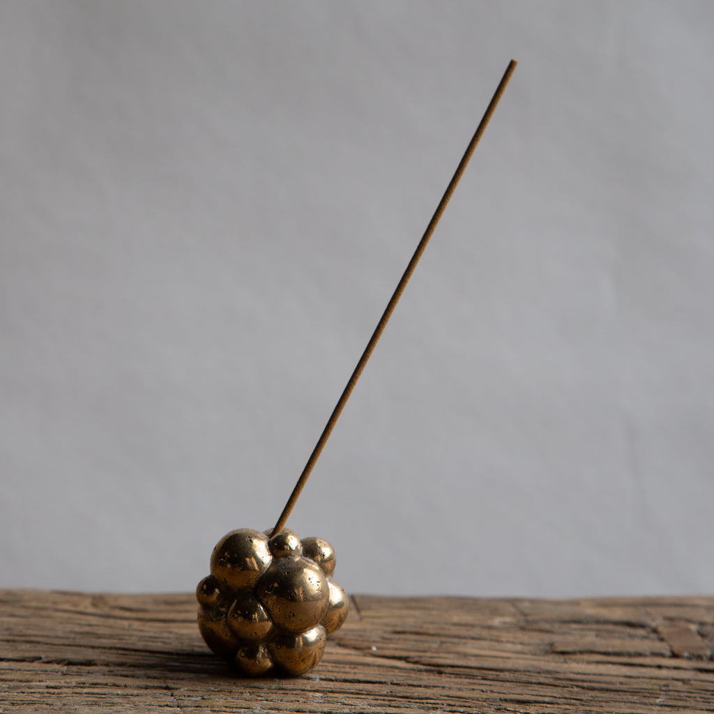 Made by Branch - Bubble Incense Holder, polished