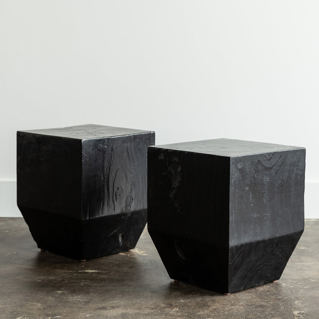 Black Block Table
