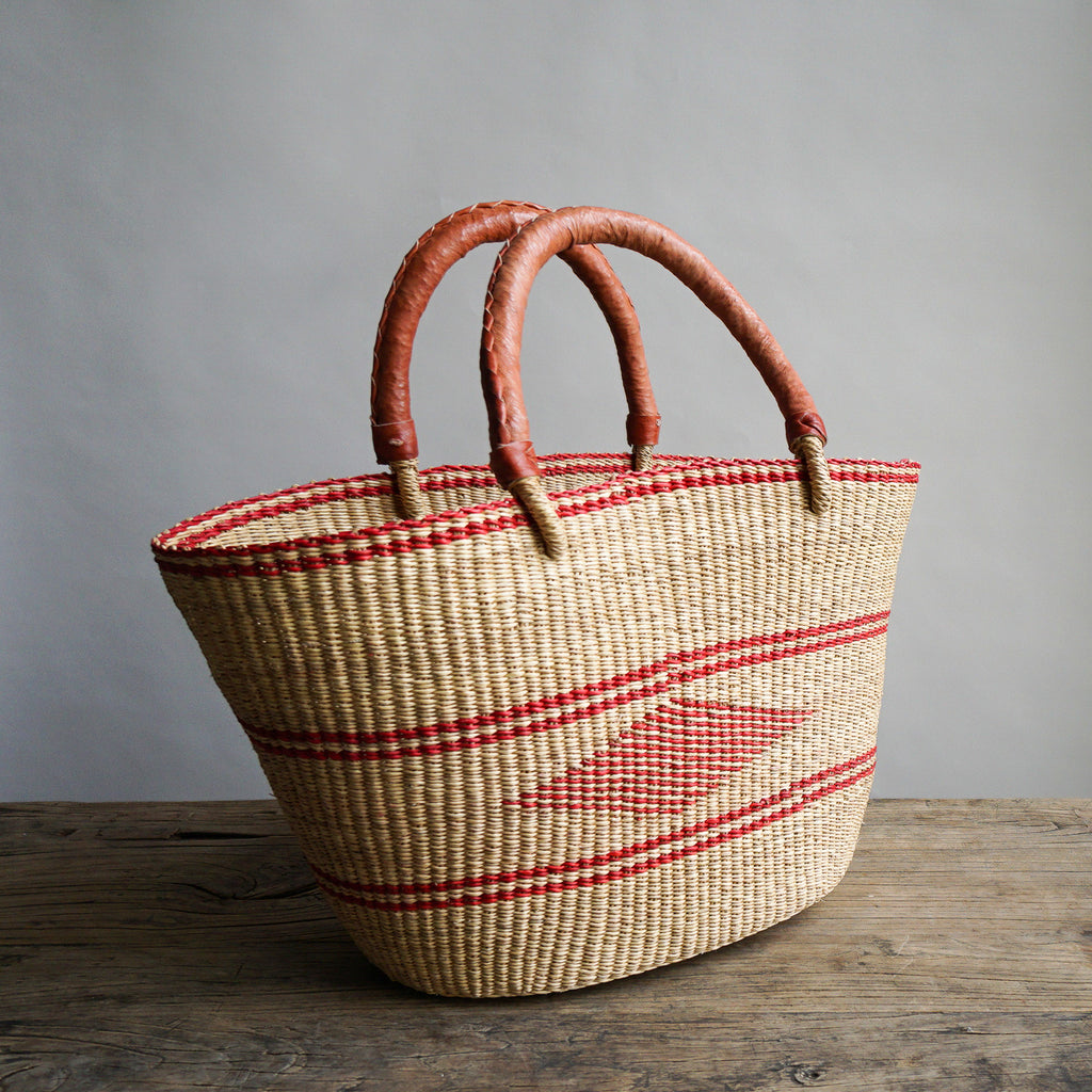 Red Oval Basket