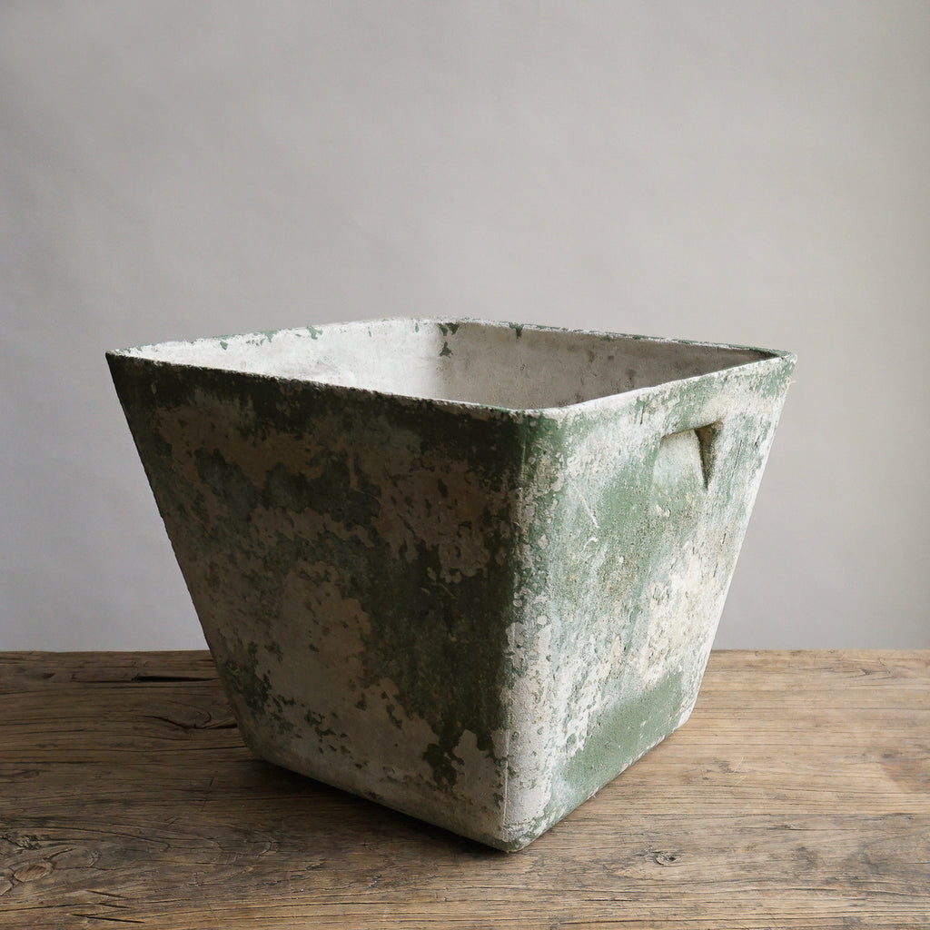 "Concrete Resin Planter - 16"" Square"