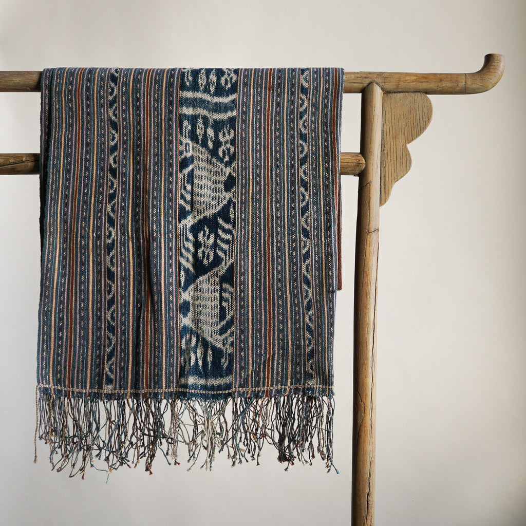 West Timor Handspun Cotton Ikat Waist Wrap