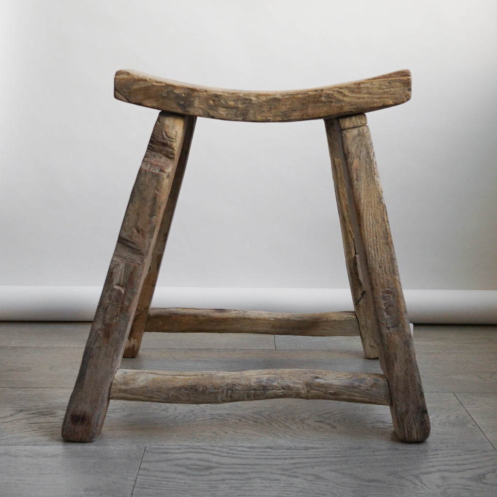 Chinese Elm Stool - 101